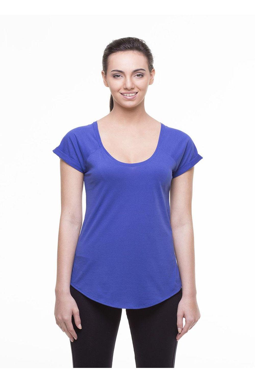 Camiseta Básica Fitness New Beautiful - Azul Royal