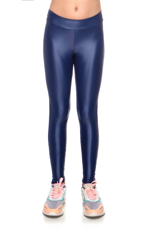 3268b690c Legging Kids Pontinho Cirrê Azul Marinho – Roupa de Academia – Mulher  Elástica Moda Fitness - mulherelastica