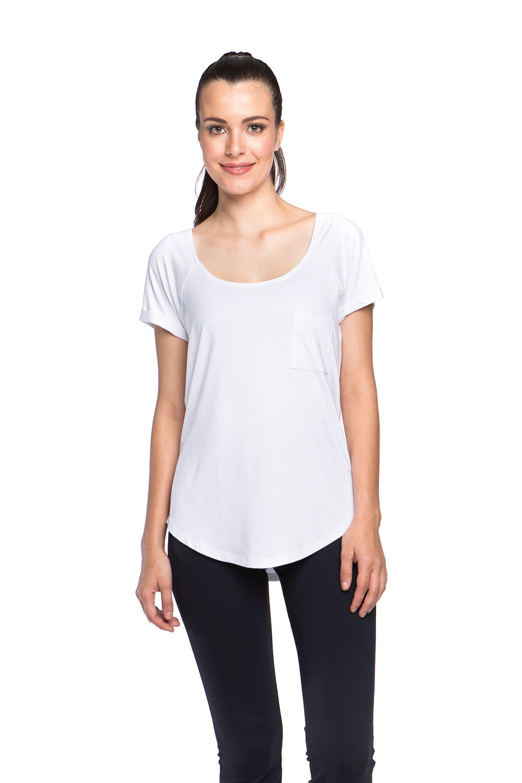a47912a2f Camiseta New Pocket Vis Up – Roupa de academia moda básica – Mulher ...
