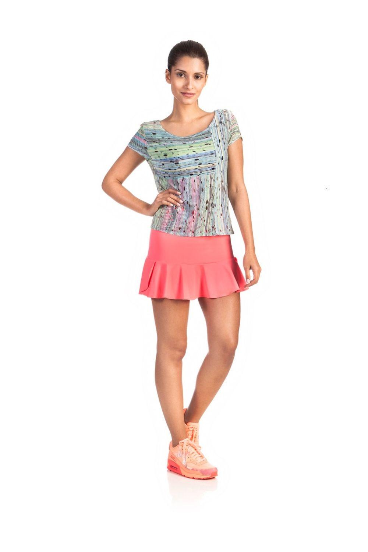 722226280 Shorts Saias Fitness - Mulher Elástica