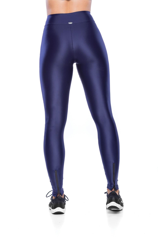 Legging Arrow Zíper - Azul
